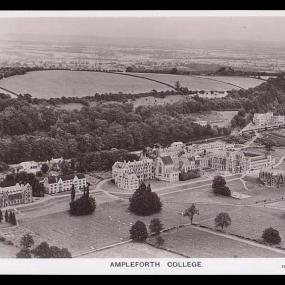 Old Aerial View of Ampleforth Abbey & College