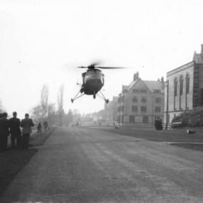 RAF Helicopter 1955